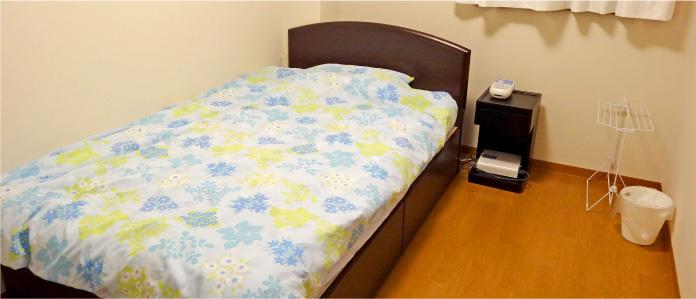 睡眠時無呼吸症候群検査入院病室